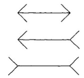 оптическая иллюзия линии