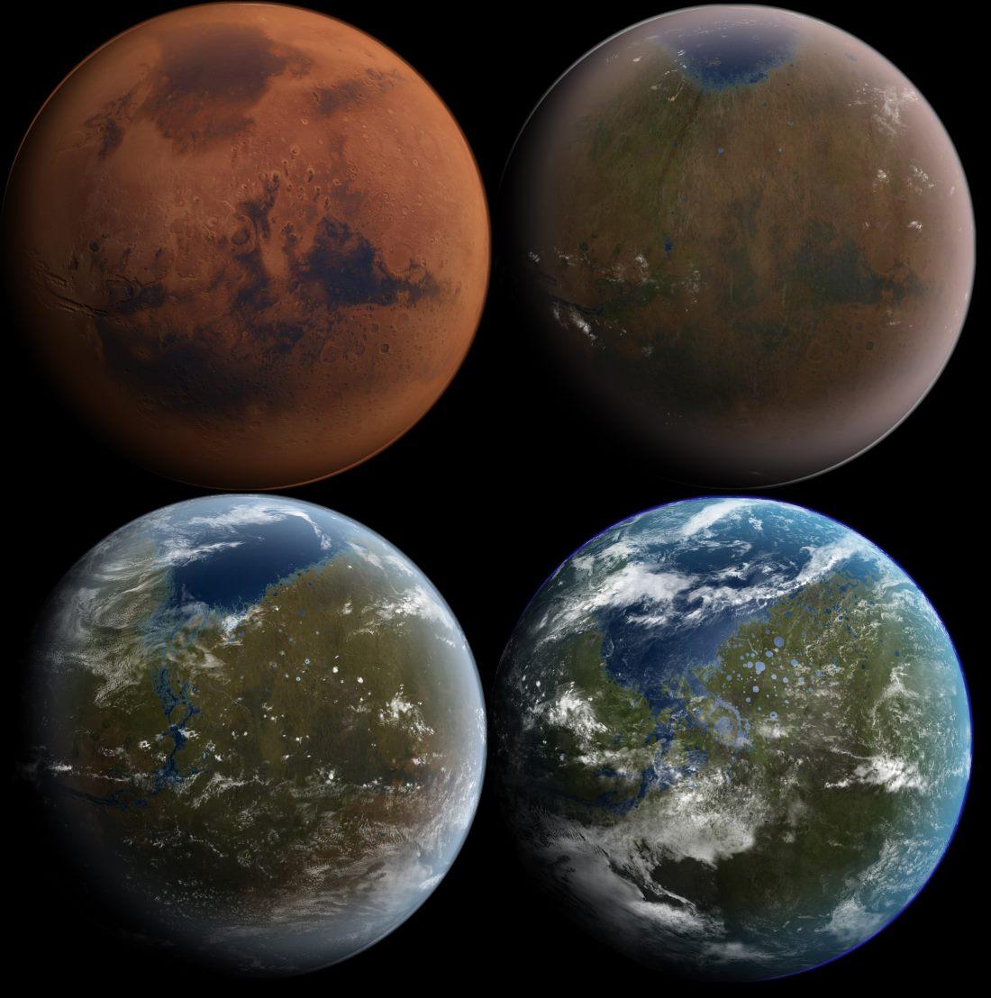 Терраформирование Марса