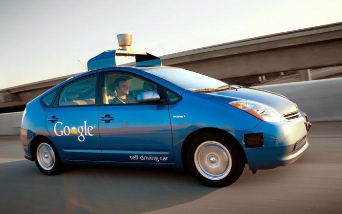 Прототип беспилотного автомобиля от компании Google