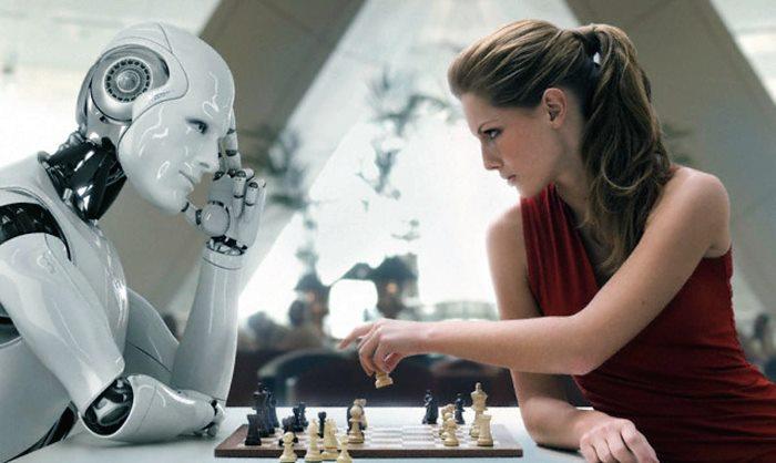 Человек и робот