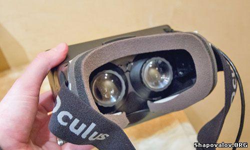 Oculus Rift изнутри